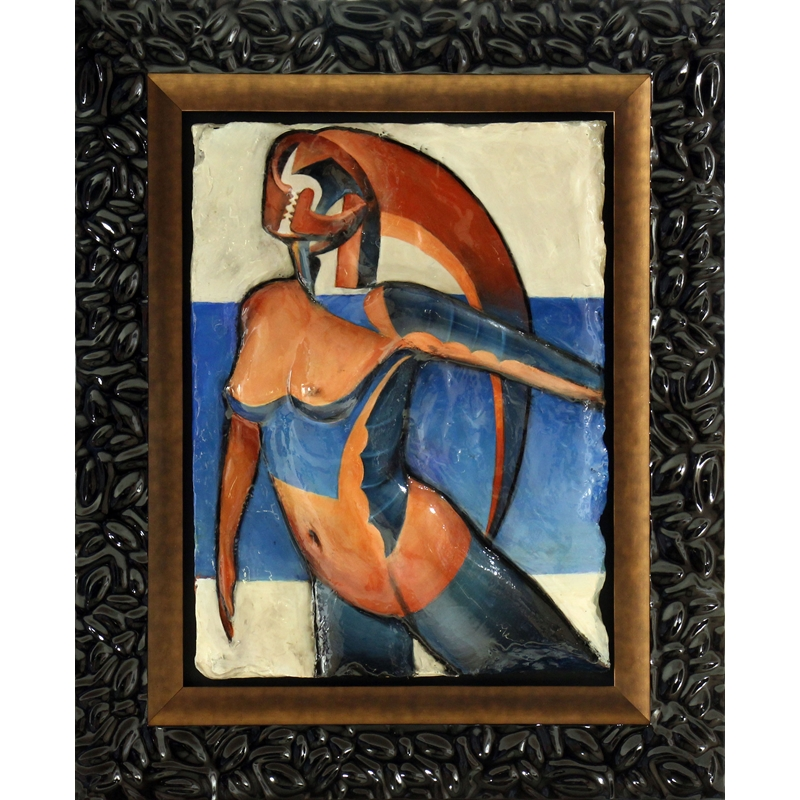"""Picasso Spirit Homage to Pablo Picasso's """"La Baigneuse (The Seated Bather)"""" 1930, 2020"""