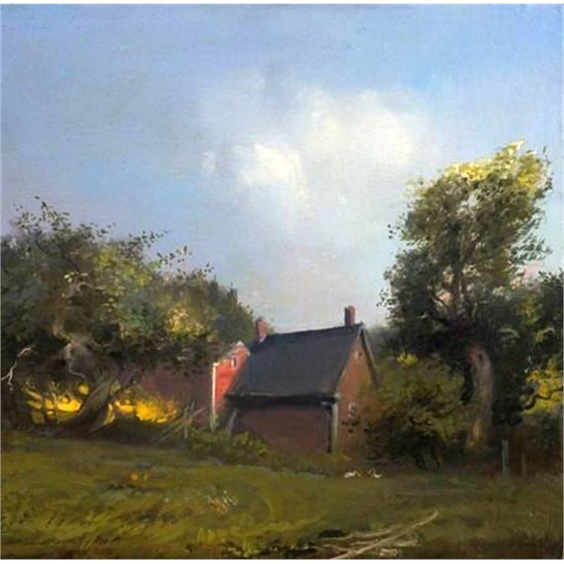 Late Afternoon, Orchard View by Frank Mason