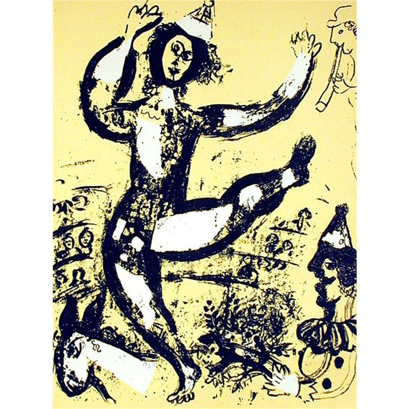 The Circus from Chagall Lithographs I, 1960