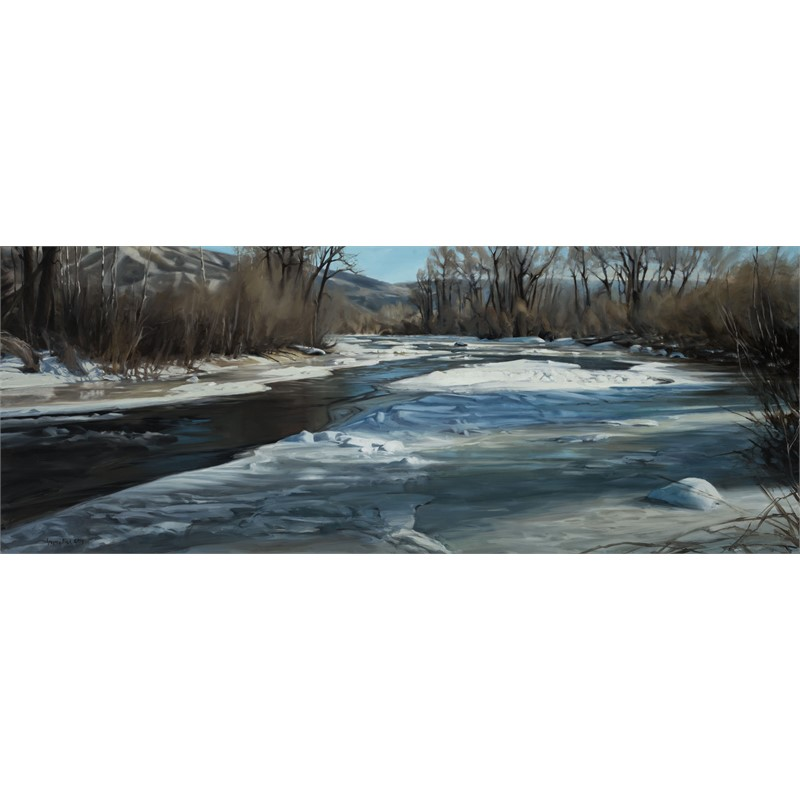Yampa River Early Spring, 2014
