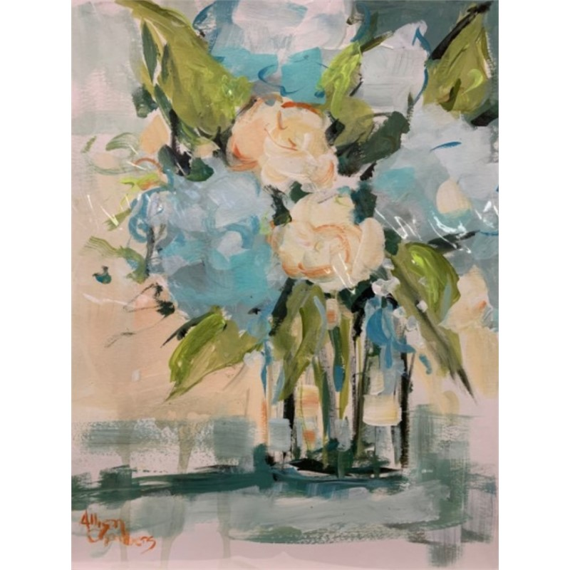 Paper floral study , 2019