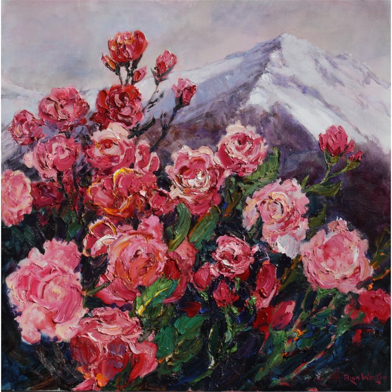 Winter Roses by Alan Wolton