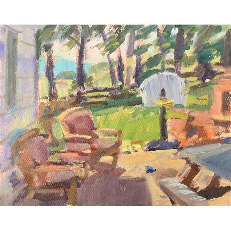 Summer Patio (study), 2019