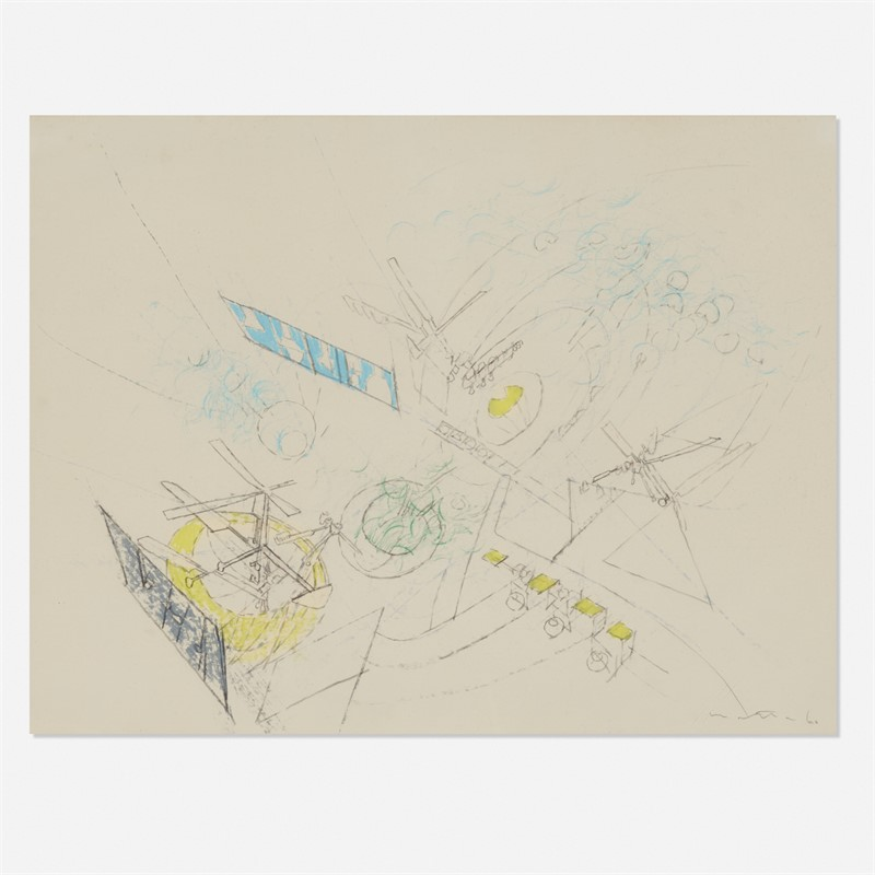Study for a painting, 1960