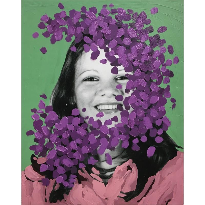 Untitled (Purple Cloud), 2017