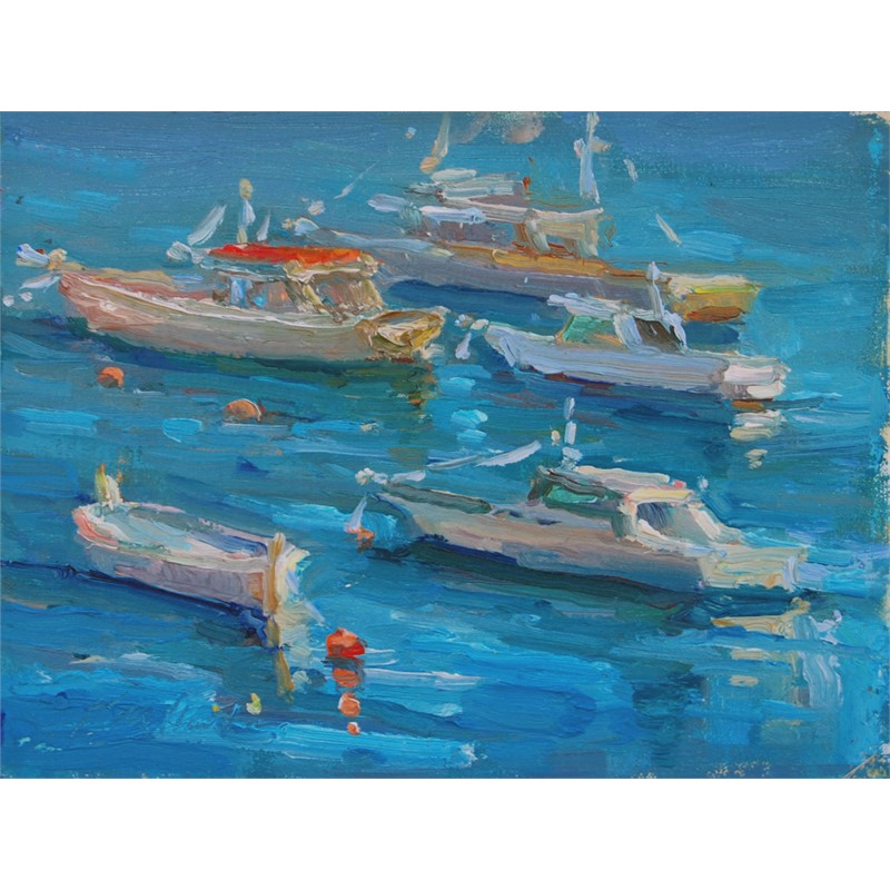 Harbor in Amalfi