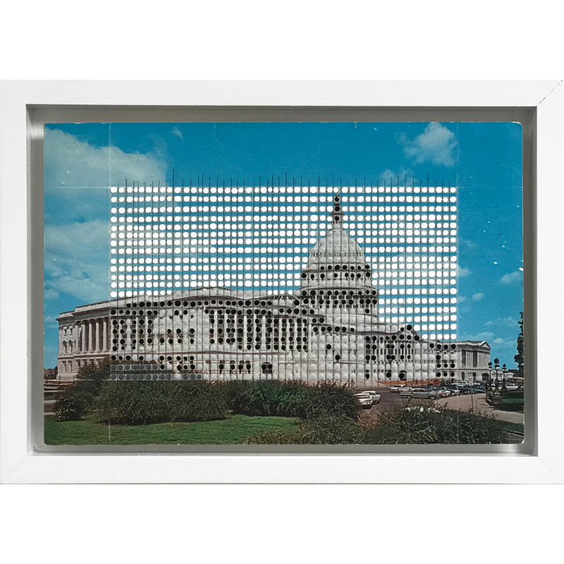 Borrowed Landscapes Study No.73/DC, United States Capital, 2020