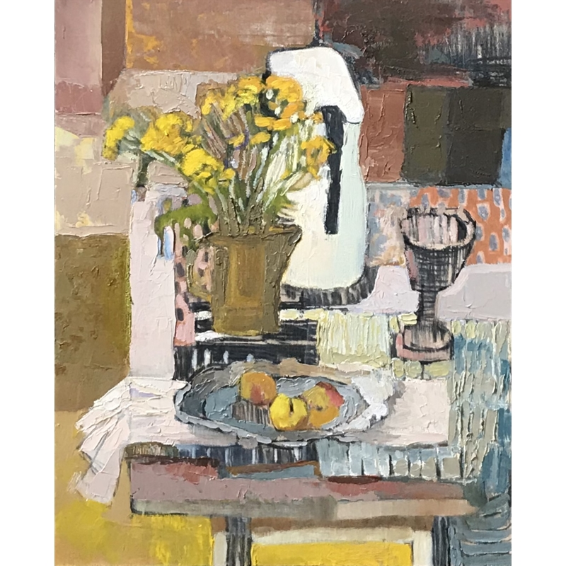 Still Life with White Pitcher, 2020