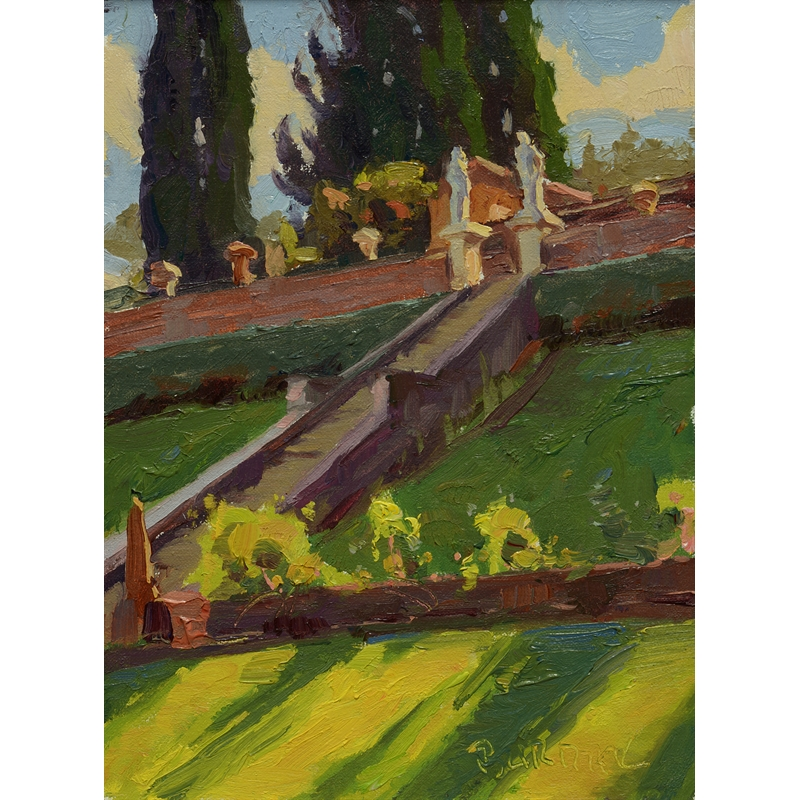 Garden Steps in Florence