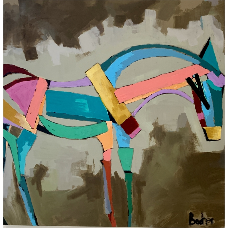 Abstracted Horse, 2019
