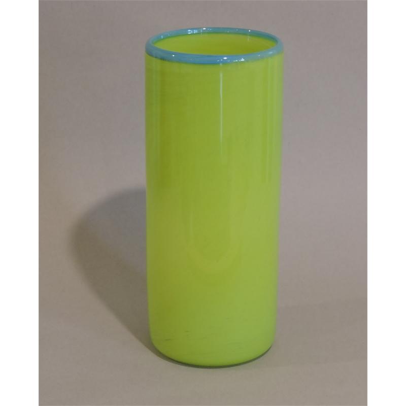 Green/Blue cylinder vase (Large)