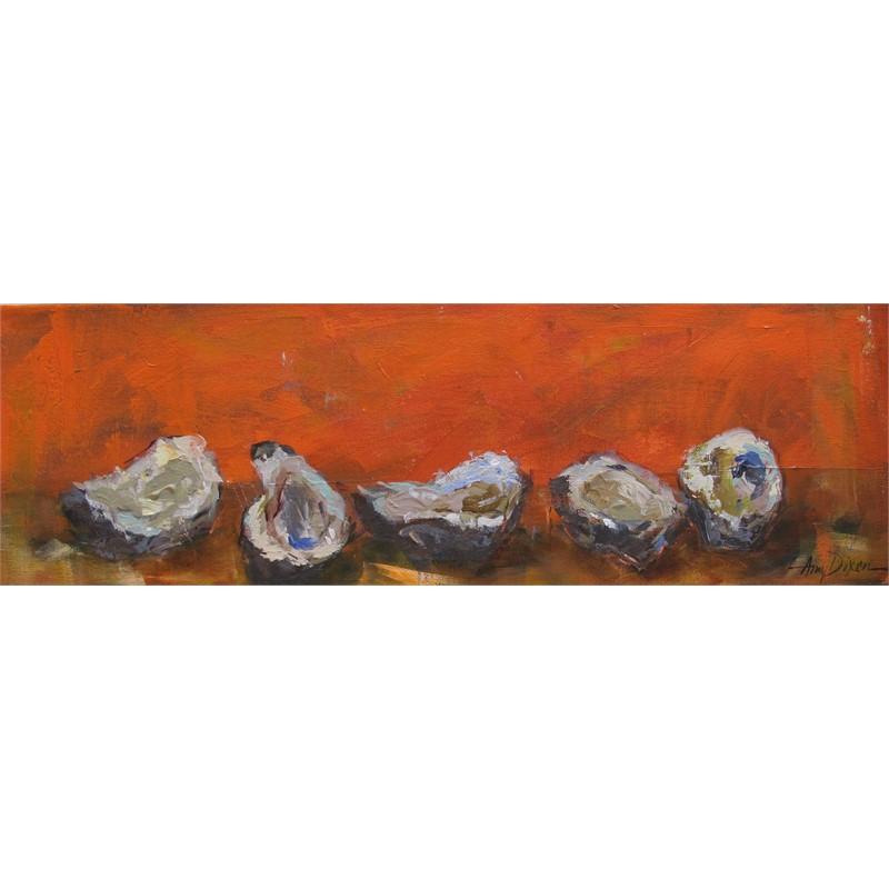 Oysters on Orange