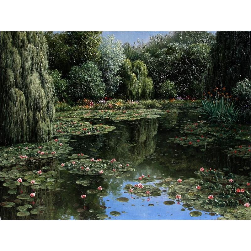 Shadows of Monet's Garden