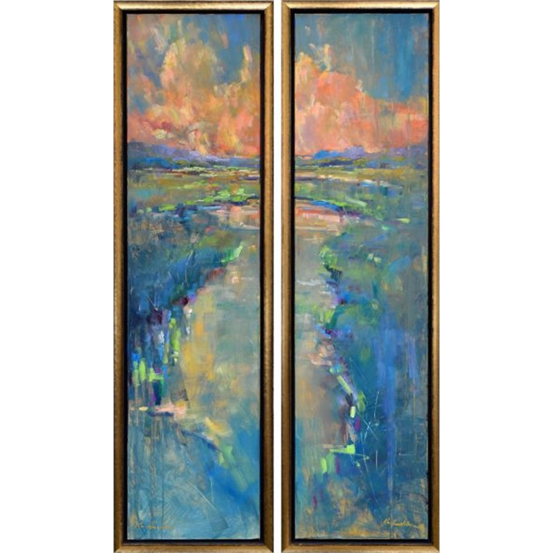 Charleston Sunset (Diptych)