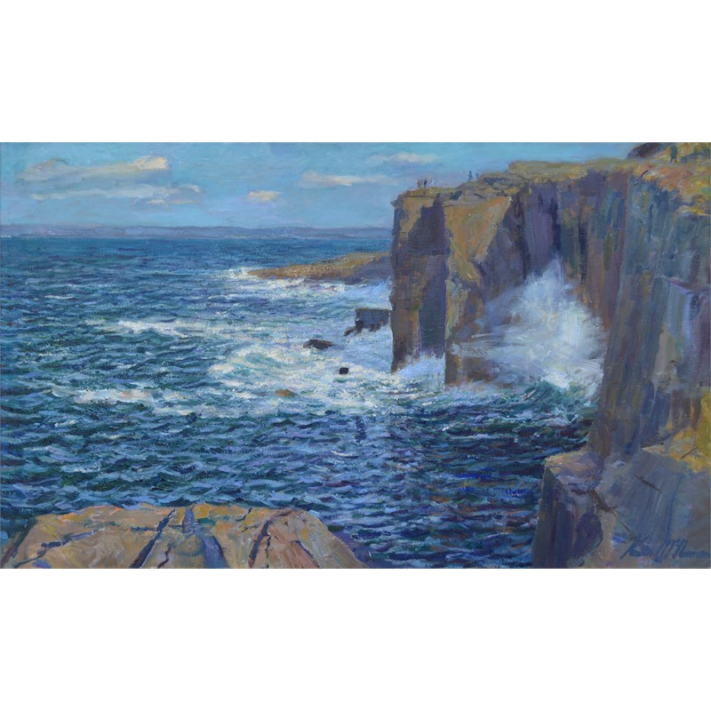 Cliffs at Fanore (County Clare)