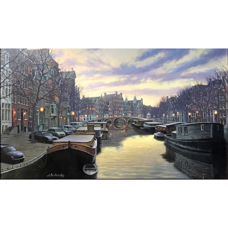 Twilight In Amsterdam