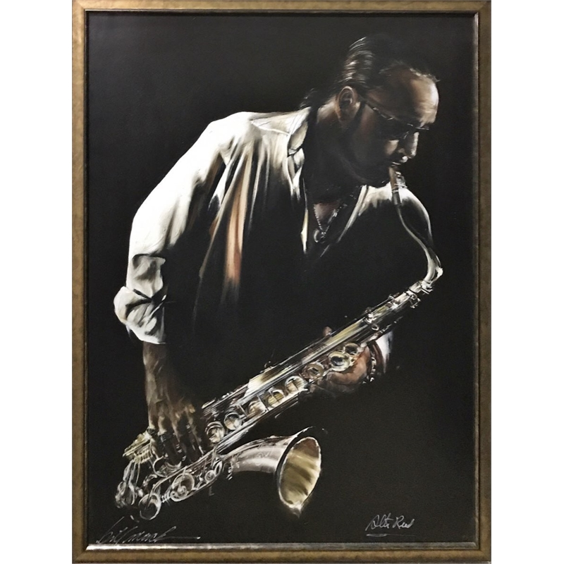Jazzman Signed by Alto Reed (1/1), 2018
