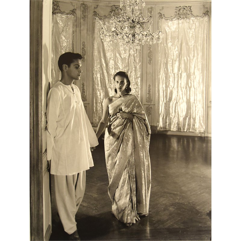 Bachoo Dinshaw and Her Brother Edulji, 1944