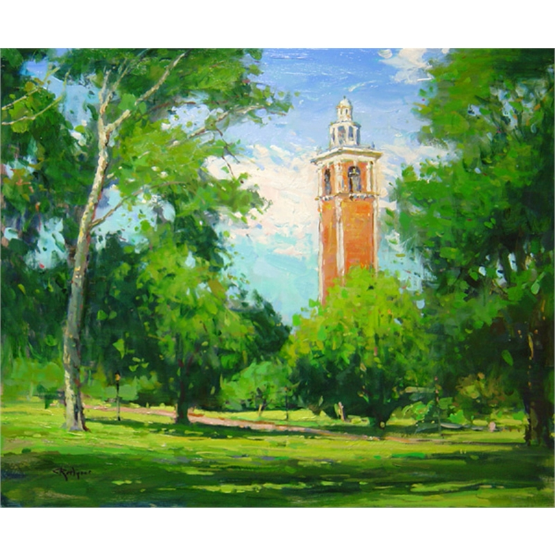 The Carillon Tower in Summer