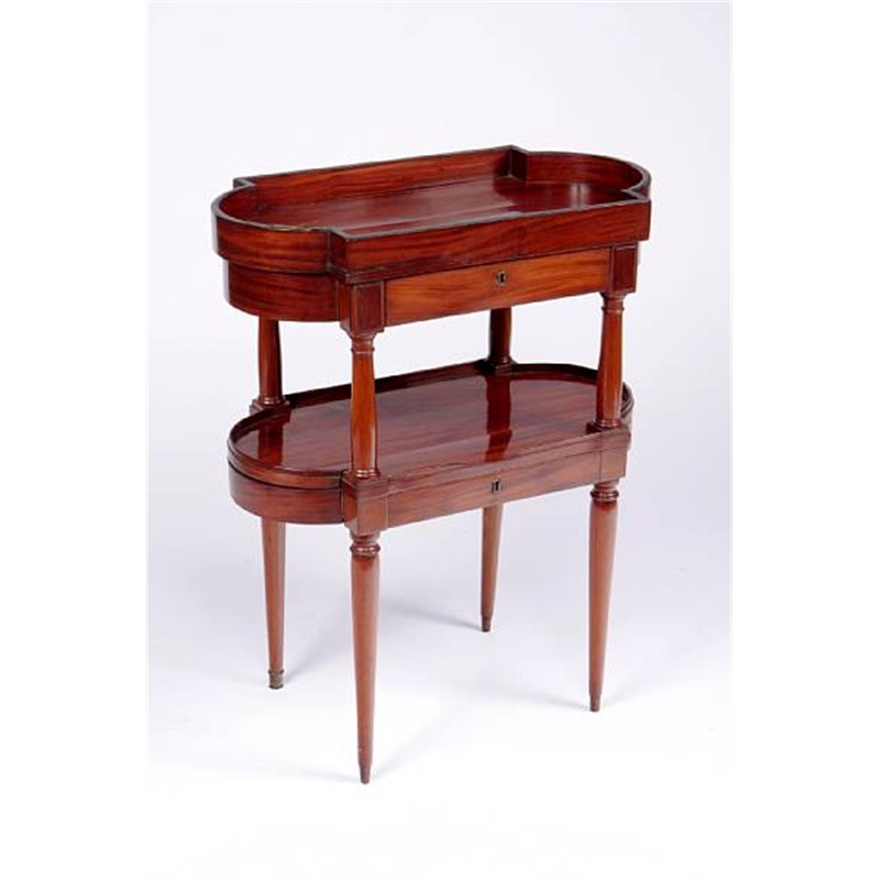 LOUIS XVI MAHOGANY TABLE A ECRIRE, French, 18th century