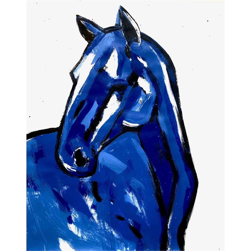 Untitled (horse looking left), 2018