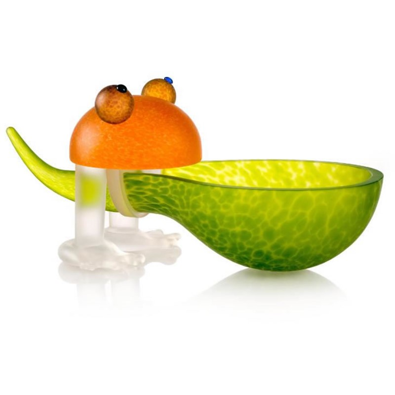 Frosch Bowl Lime Green 24-01-37 by Borowski