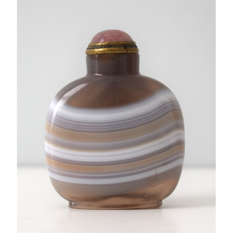 AGATE SNUFF BOTTLE, 1750-1850