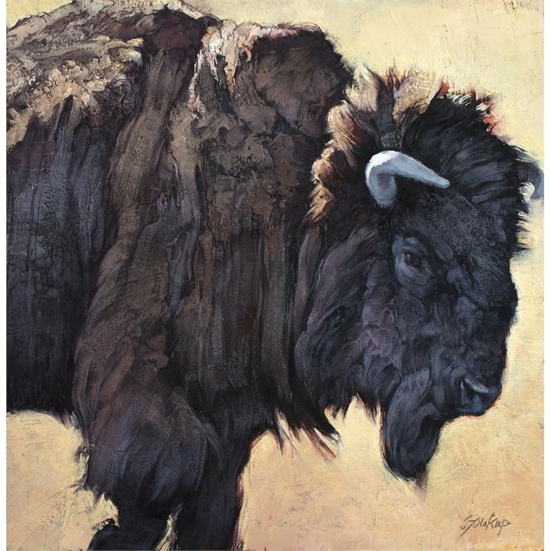 Bison Bull No. 5