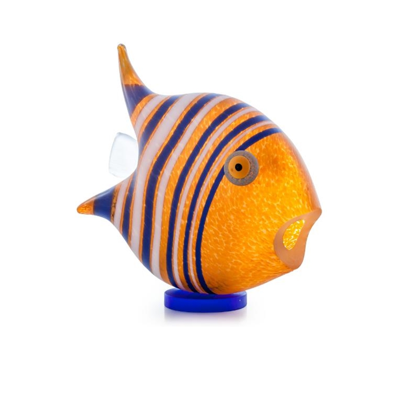 Angel Fish Small Orange 24-04-00 by Borowski