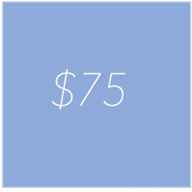 gift credit 75