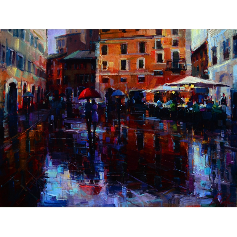 Romance in the Rain by Michael Flohr