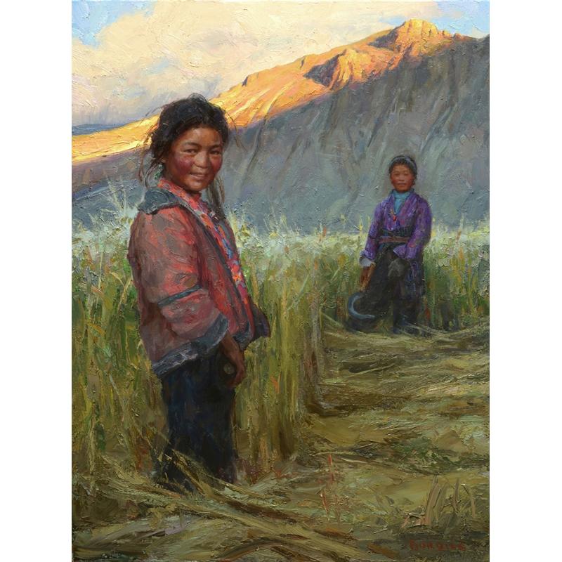 Tibetan Sisters