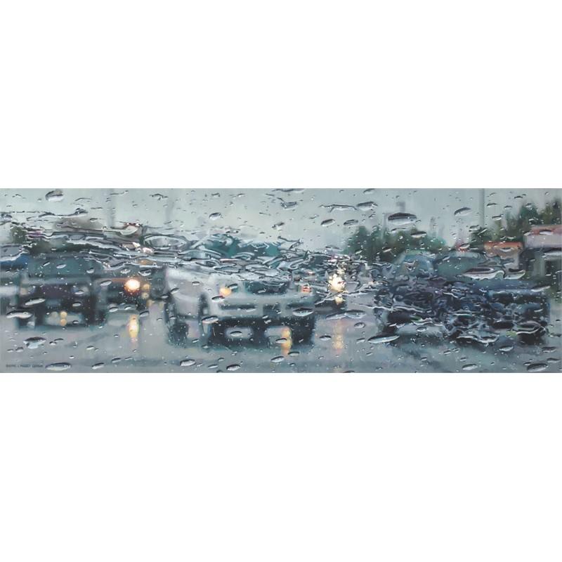 Rain on Windshield: Left Turn