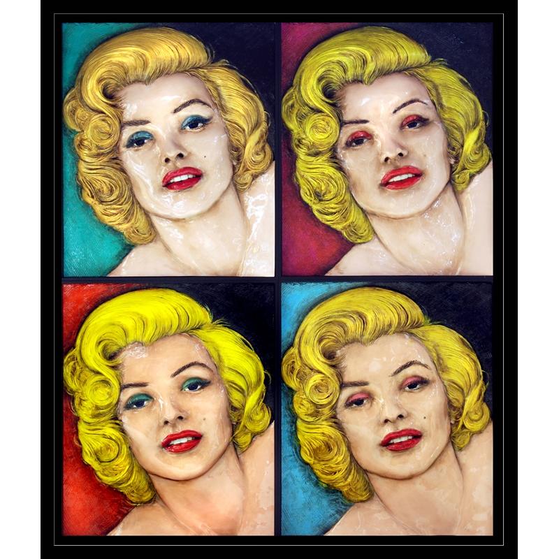 Warhol 4 Marilyns