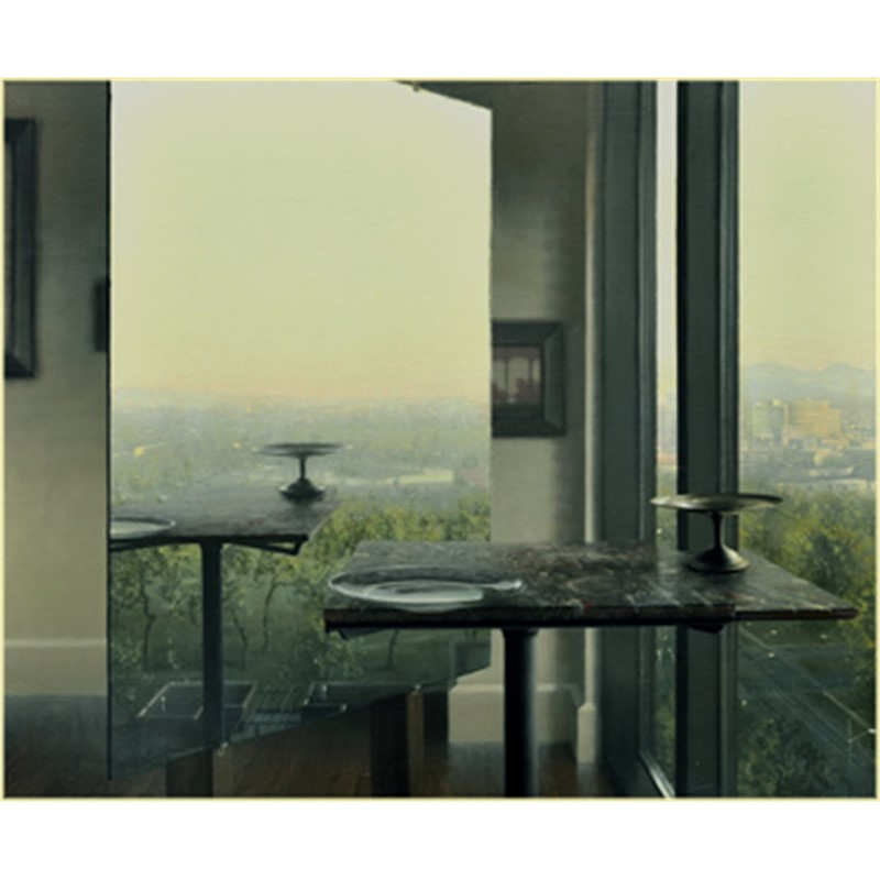 Studio with View of the City, 2012
