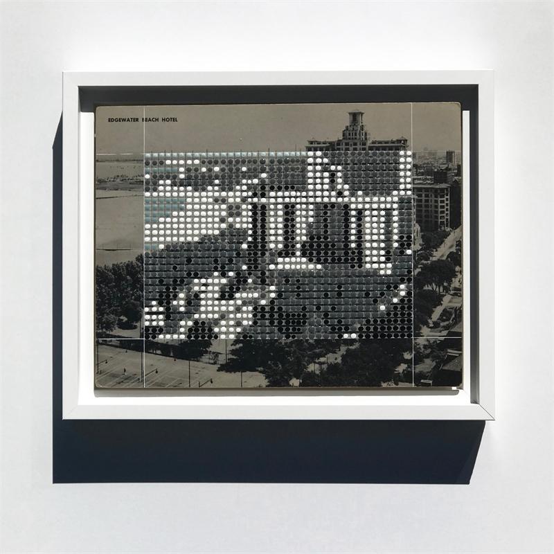 Borrowed Landscapes Study No.176/ IL, Chicago, Edgewater Beach Hotel, 2020