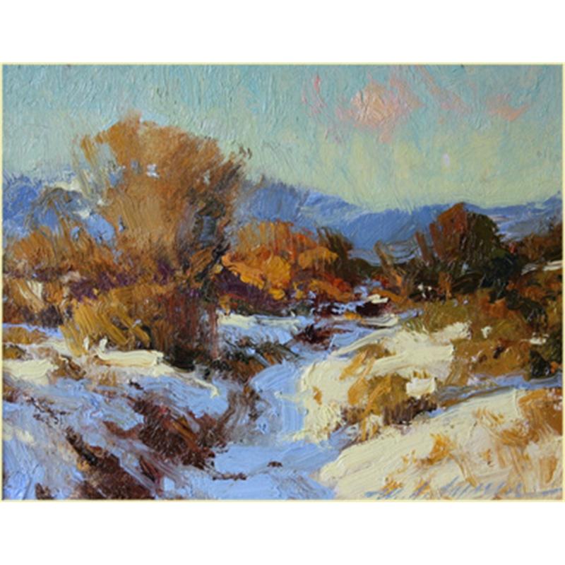 Arroyo in Winter