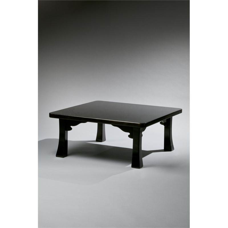 JAPANESE CHABUDAI INSPIRED LACQUER LOW TABLE, American, 20th century