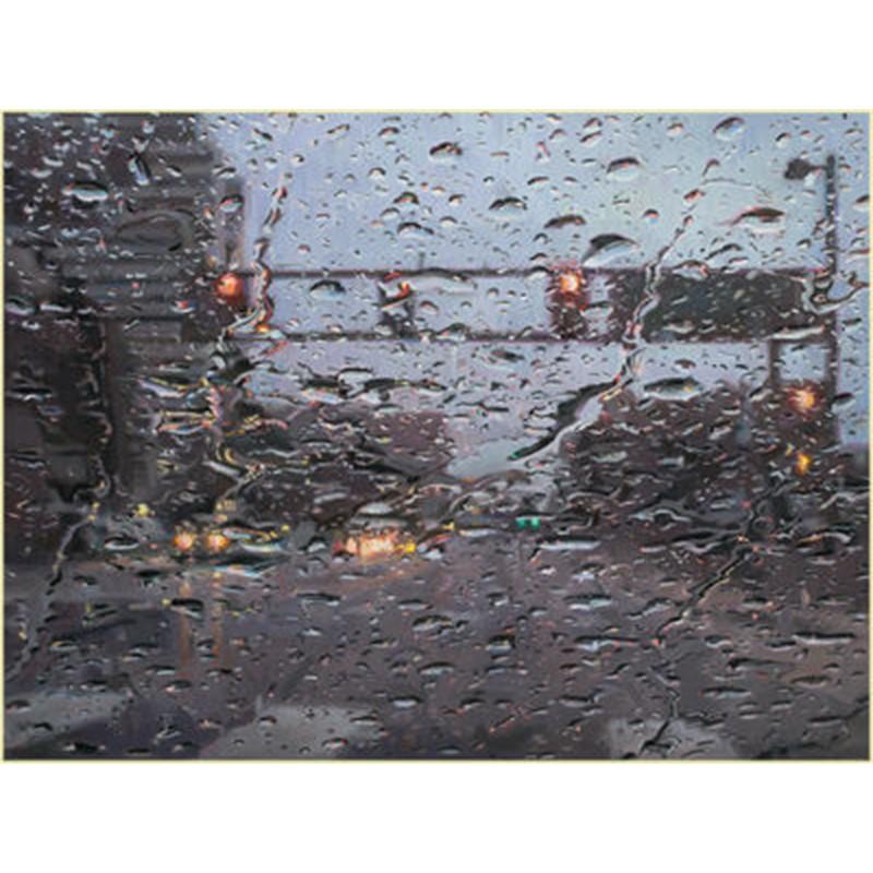 Rain on Windshield