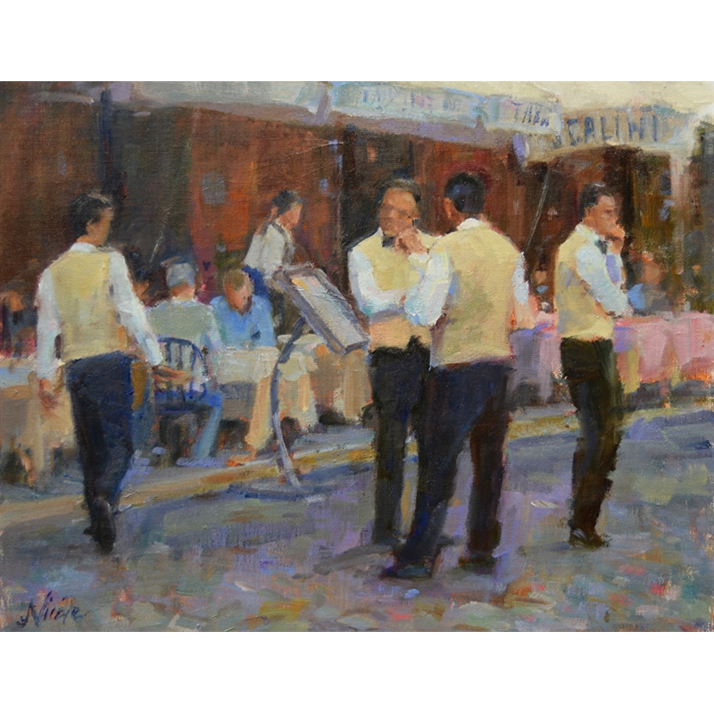 Cammerieri di Roma (Roman Waiters), 2020
