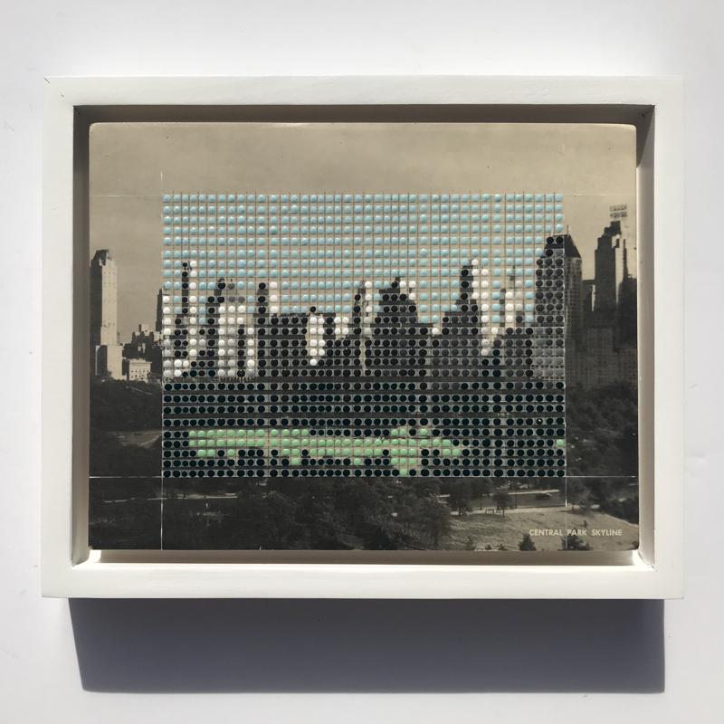 Borrowed Landscapes Study No.167/ NY, NYC, Central Park Skyline, 2020