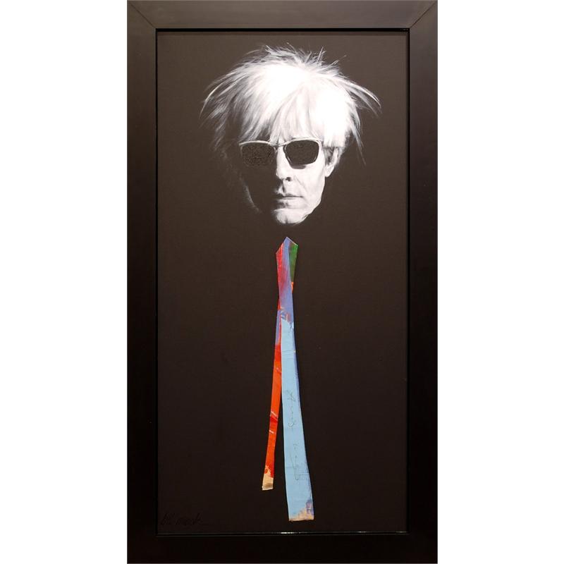 Warhol Signed Canvas Tie