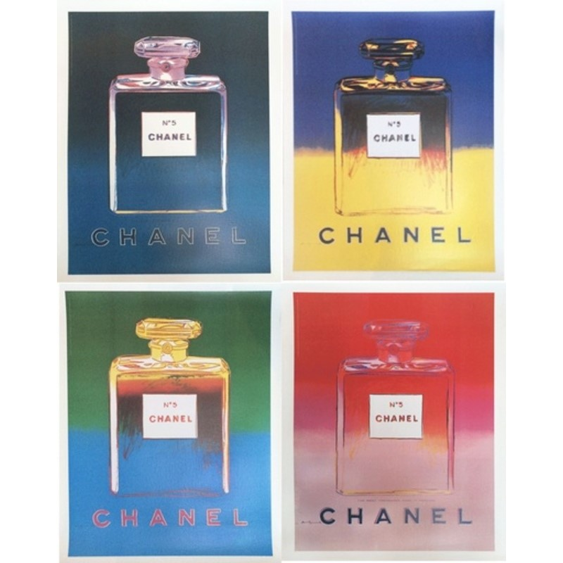 Chanel No. 5 by Andy Warhol