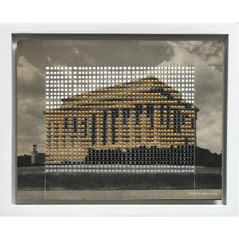 Borrowed Landscapes Study No.139/ Washington DC, Lincoln Memorial #2, 2020