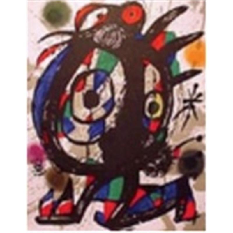 Miro Lithographs Volume III Plate I, 1972