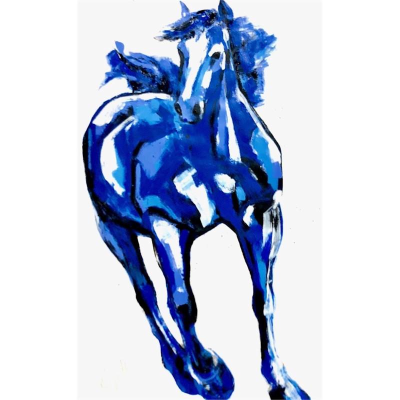 Untitled (full rendering of horse), 2018