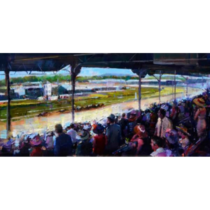 Triple Crown Collection - Churchill Downs by Michael Flohr