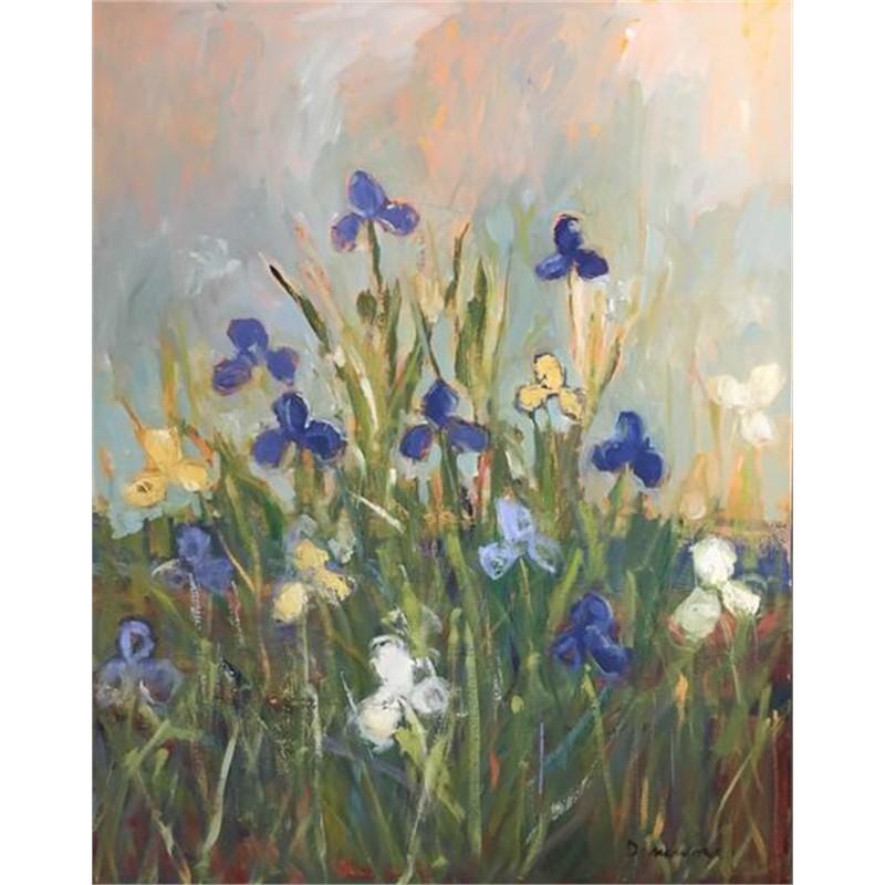 Iris in Landscape
