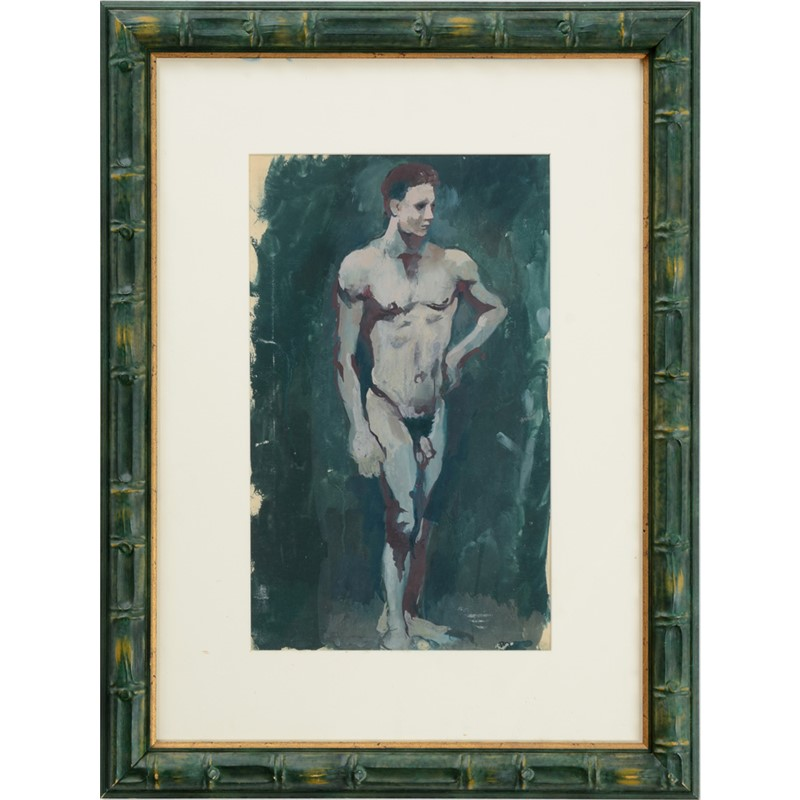 STANDING MALE NUDE, 20th century