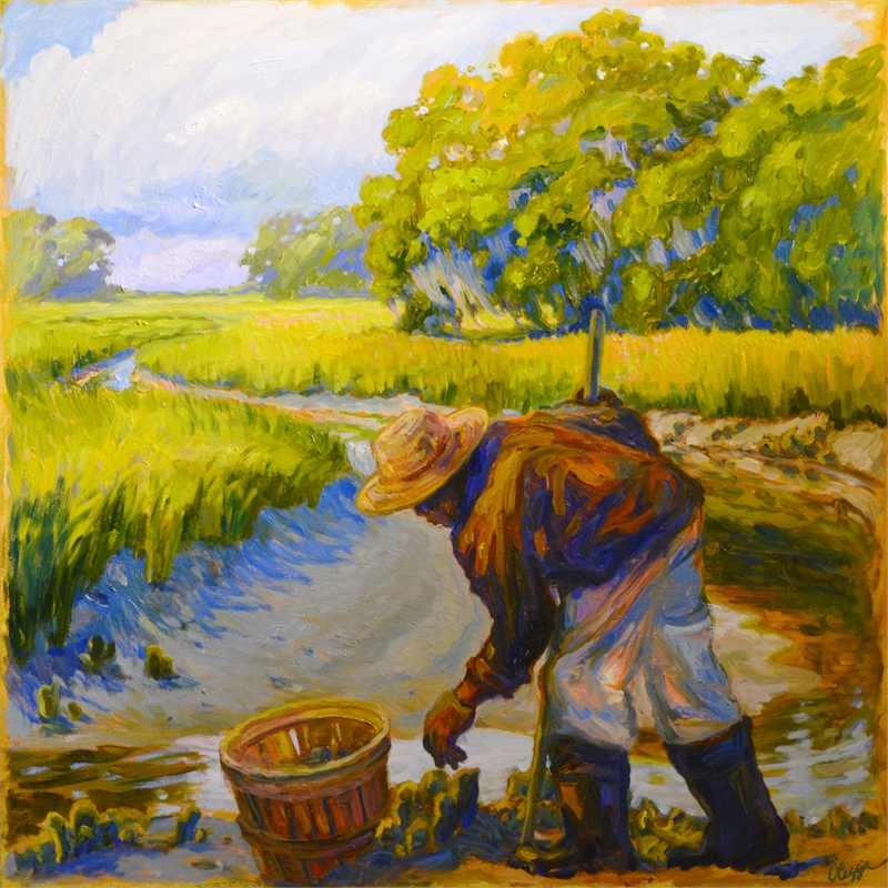 Georgia Oyster Picker